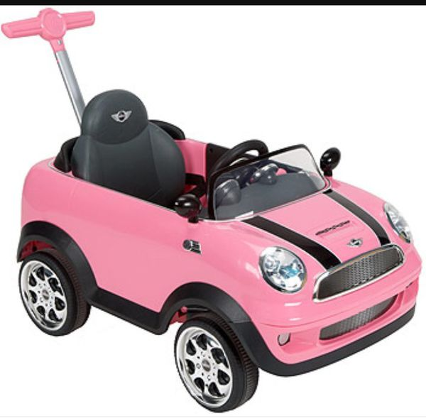 pink push toddler mini cooper for sale in philadelphia, pa - offerup