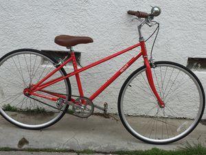 Photo Fuji single speed mixte road bike