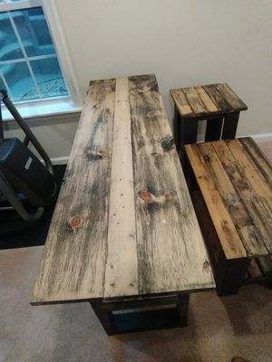 Coffee table, end table, TV stand for Sale in Fairfax, VA