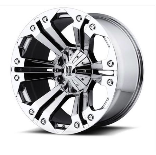 XD Rims For Sell 20s By 10 1/2 Wide Polish Chrome Like