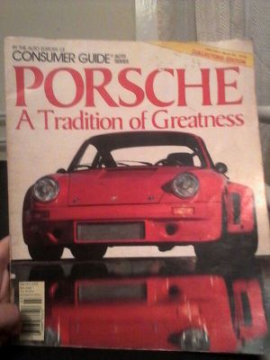 March 1984 Porsche Catalog Collectors Edition for Sale in San Diego, CA