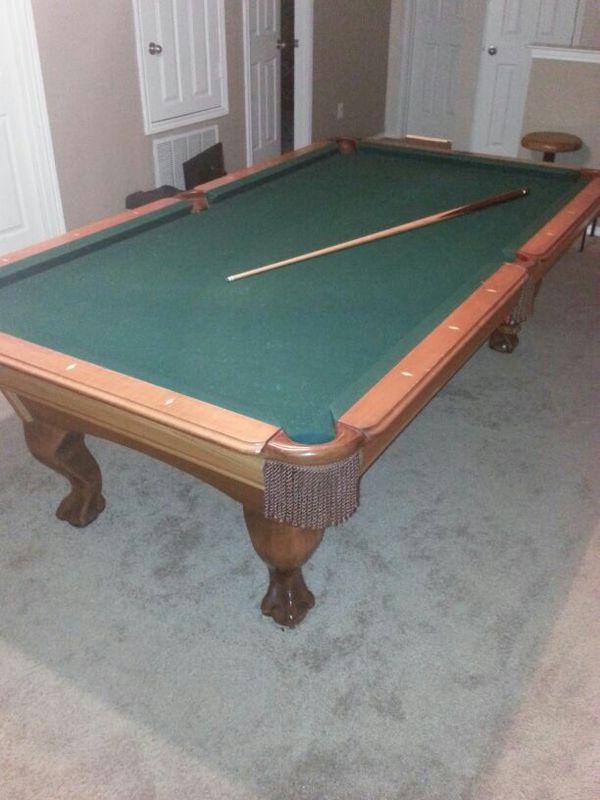 AMF Playmaster Foot Pool Table For Sale In Fort Worth TX OfferUp - Amf playmaster pool table