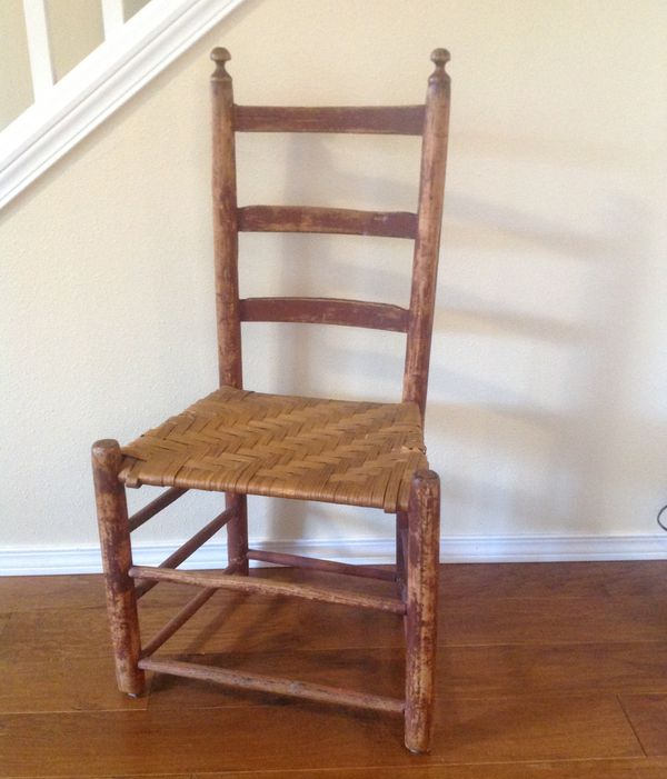 - Antique Ladder Back Chair. For Sale In Olympia, WA - OfferUp
