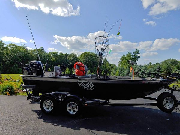 2007 tuffy 1890 osprey fishing boat
