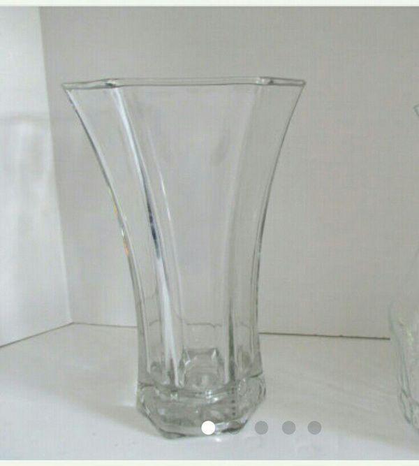 Hoosier Glass Flower Vase 4041 For Sale In Darien Il Offerup