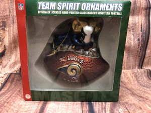 VTG HandPainted St. Louis Rams Ornament for Sale in Nampa, ID
