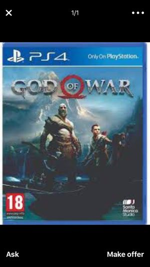 God of war ps4 for Sale in Cleveland, OH