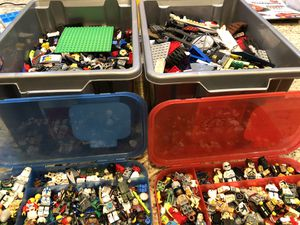 Thousands of LEGO plus people and accessories for Sale in Chandler, AZ