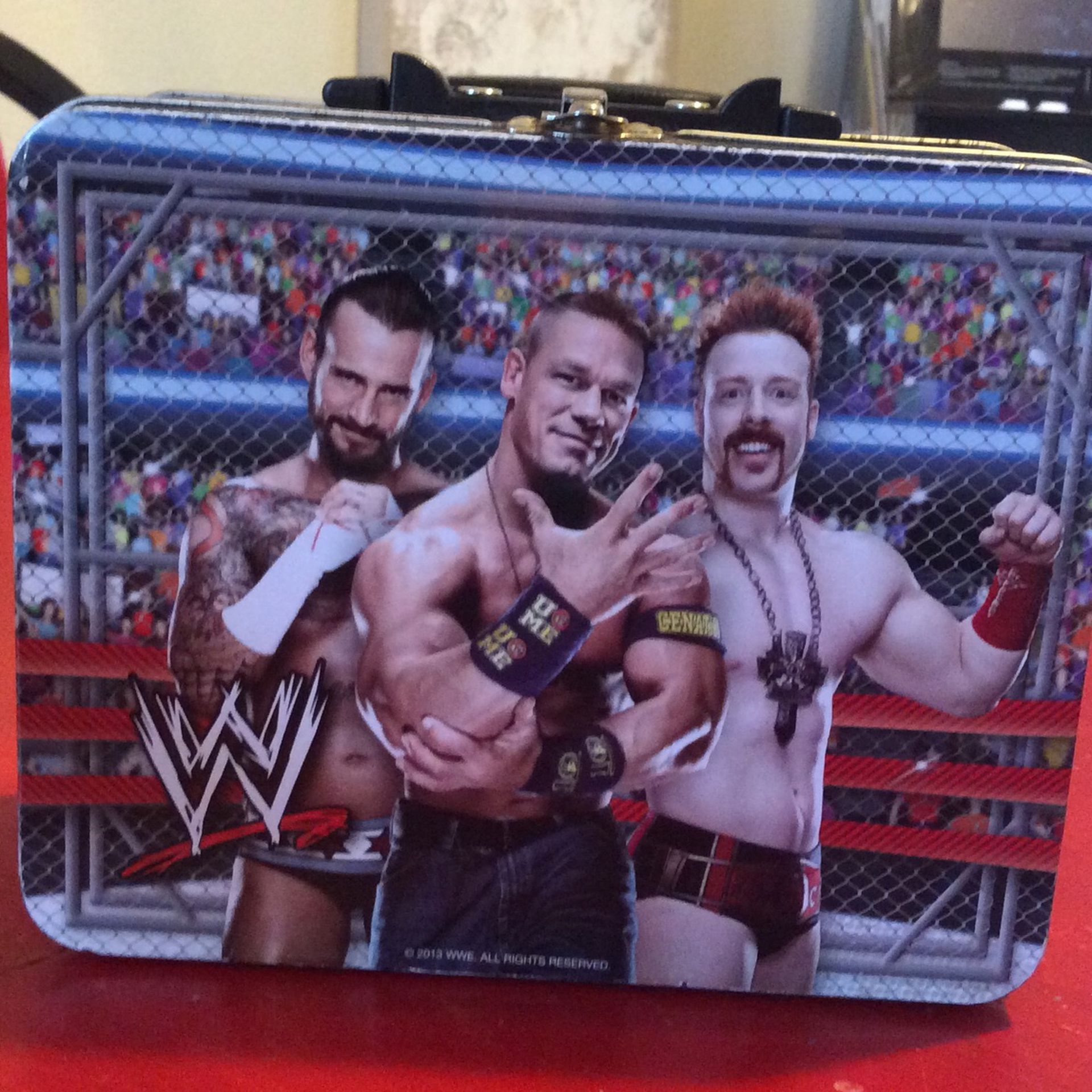 Wrestling Lunchbox. Pickup Only