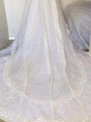 Wedding dress with veil. for Sale in Herndon, VA