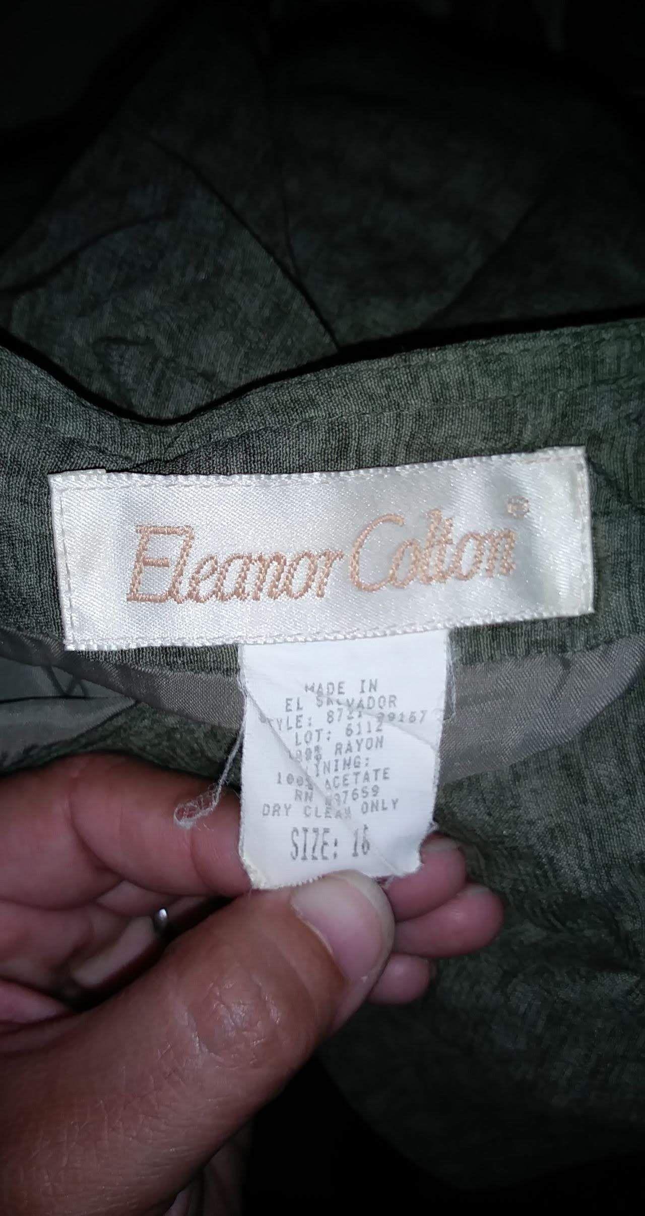 Eleanor Colton full length wrap skirt sz 16