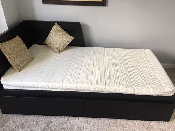 Ikea Flekke Daybed With Two Twin Mattresses Two Pull Out