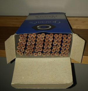 General's Semi-Hex #497 Untipped F Hexagonal Drawing Pencils/6 Dozen for Sale in Gaithersburg, MD