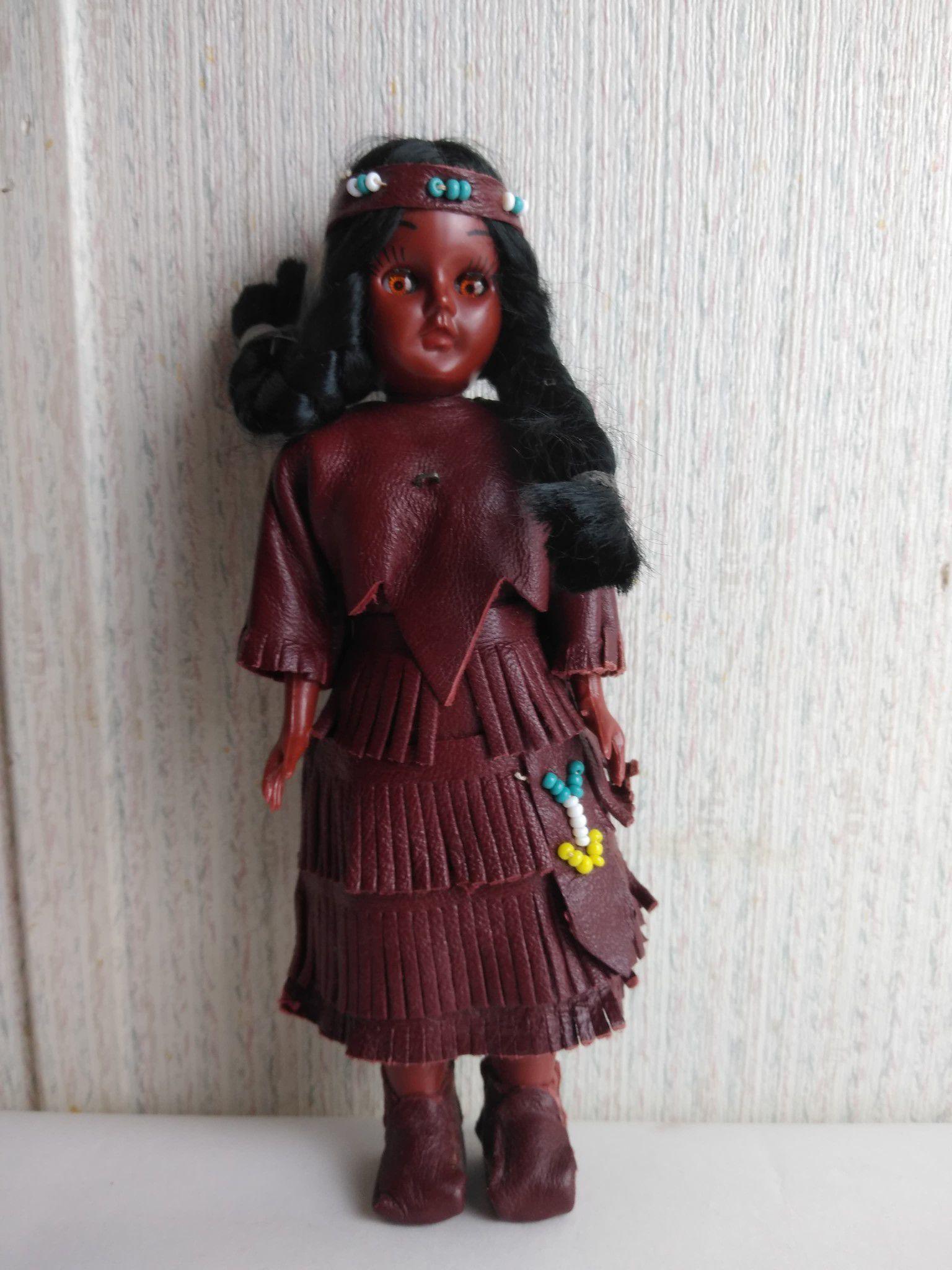 Older Native American Doll