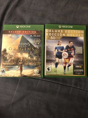 Xbox one games great working condition for Sale in Washington, MD