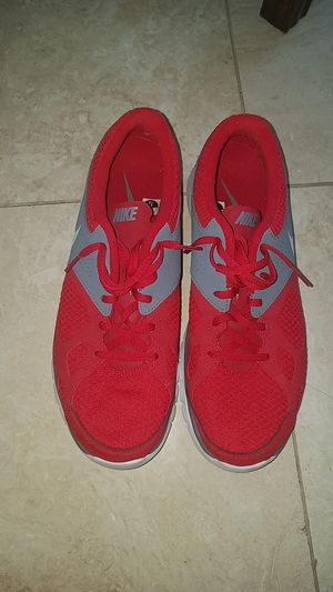 6dfa995974d Nike Mens size 12 red shoes like new for Sale in Arlington Heights