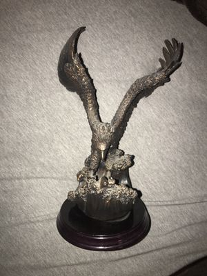 Eagle statues (sold separate) or cheaper by pair for sale  Wichita, KS
