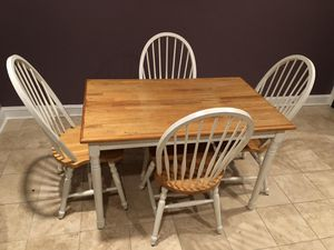 Kitchen Table and 4 Chairs for Sale in Alexandria, VA