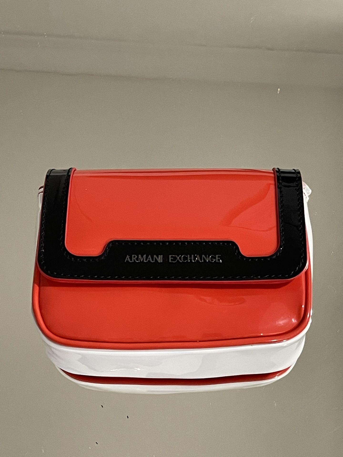 AX    Armani Exchange Women's Red Mini Bag