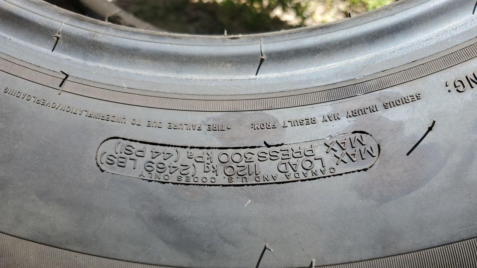 MICHELIN 245/75R17 Tires