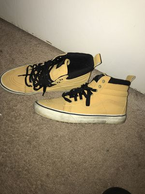 Vans hi too yellow for Sale in Brentwood, MD