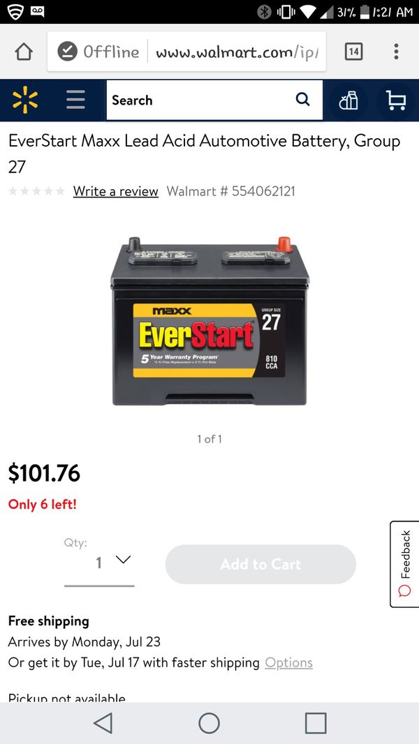 Brand new battery (Auto Parts) in Copperas Cove, TX - OfferUp
