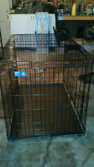 Top Paw Extra Large Dog Crate Folding Double Door Crate For Sale In
