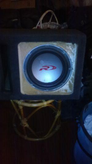 Alpine type R 2000 watt speaker for Sale in Pittsburgh, PA