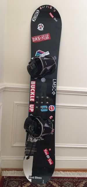 Rossignol Snowboard 164 cm with Flow bindings for Sale in Silver Spring, MD