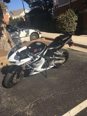 16 Honda Cbr600rr for Sale in Arlington, VA