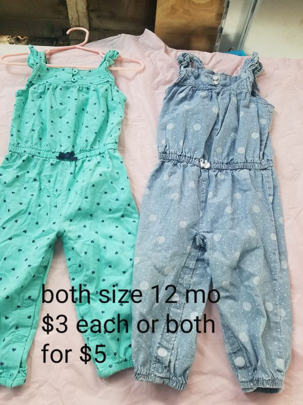 12 mo girl clothes (Baby & Kids) in Visalia, CA - OfferUp