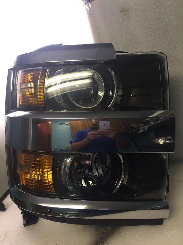 2017 2016 2018 Chevy Silverado 2500 3500 Headlight