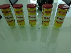 Wilson tennis balls 5 pack for Sale in Miami, FL