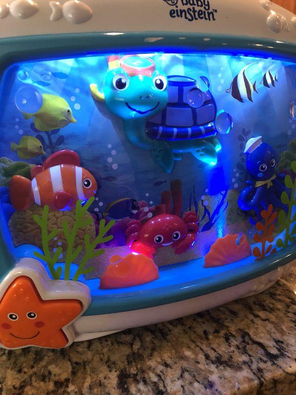 Baby Einstein Sea Dreams Soother Night Light Sound Machine For Crib