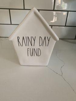 Rae Dunn rainy day bank Thumbnail