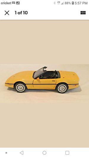 Photo Franklin Mint 1986 Chevy Corvette