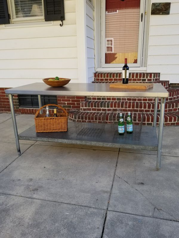 Vintage Stainless Steel Table Ft For Sale In Norfolk VA OfferUp - 6 ft stainless steel table