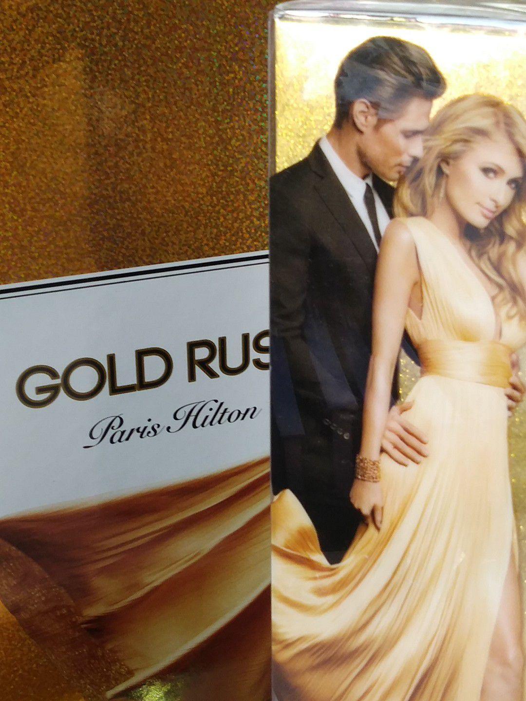 GOLD RUSH MAN BY PARIS HILTON 3.4 EDT MEN