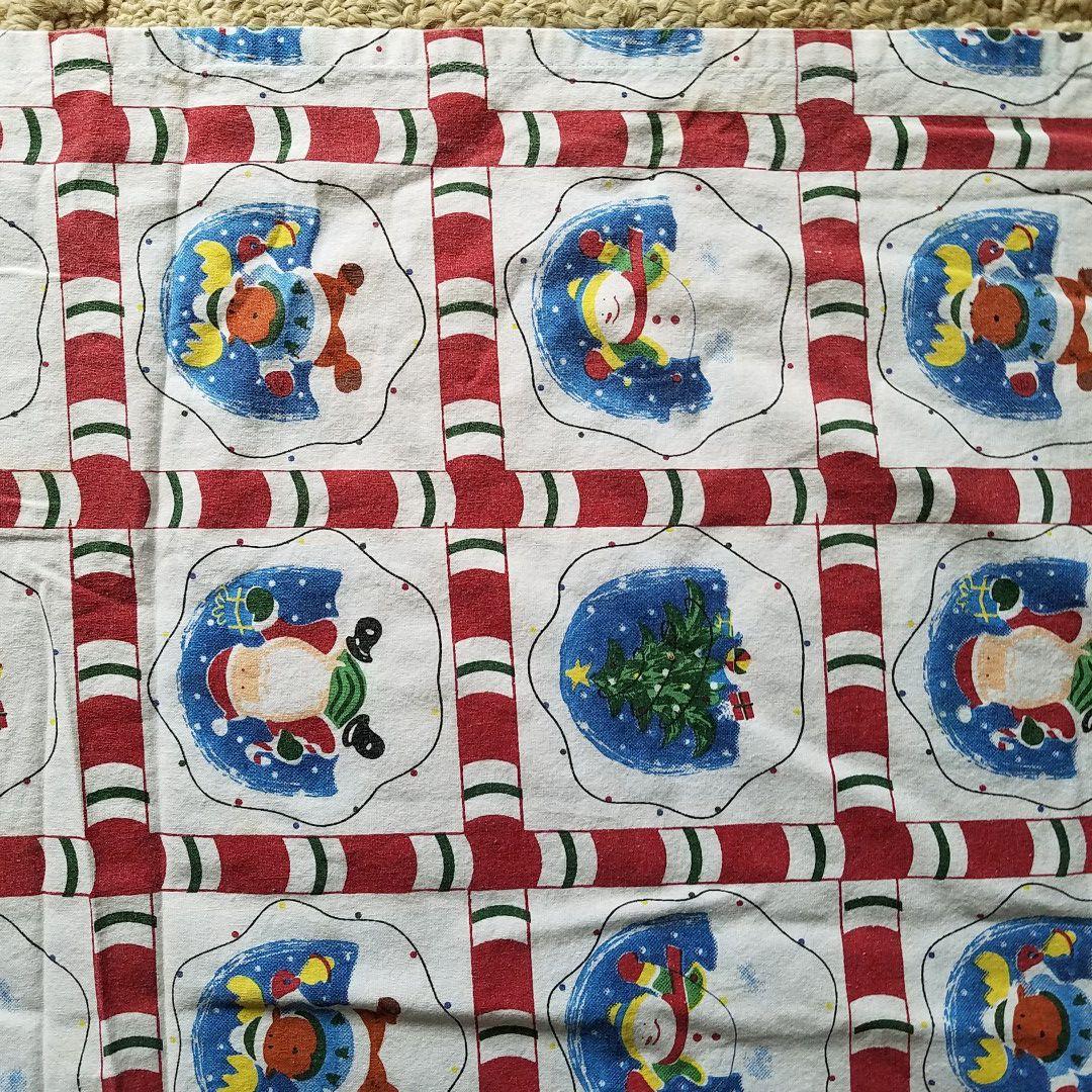 Very beautiful Christmas tablecloth