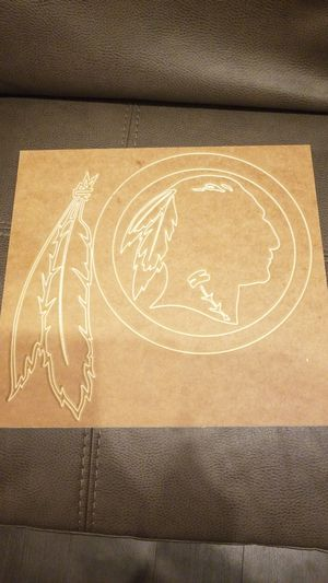 Redskins, Wizards and Captials logo. Made on a cnc router. for Sale in Fairfax, VA
