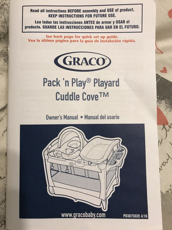 Garage Sale Must Go Today Graco Pack N Play Playard Cuddle Cove For