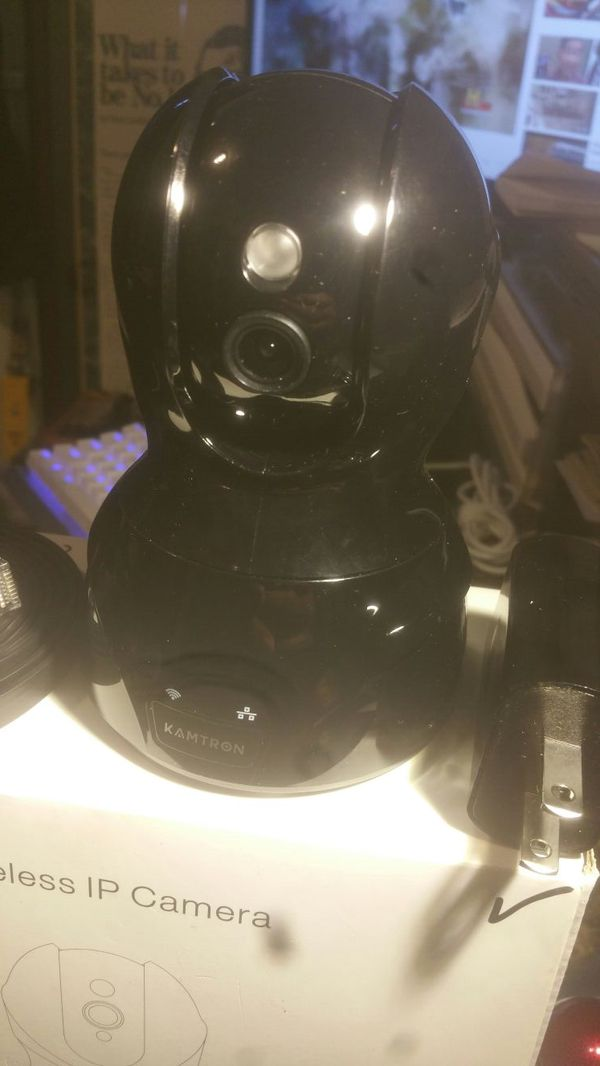KAMTRON 720 HD WIFI VIDEO MONITORING SECURITY SURVEILLANCE CLOUD IP CAMERA  for Sale in Los Angeles, CA - OfferUp