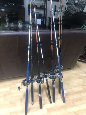 Fishing Rods With Reel COMBOS! for Sale in Hawthorne, CA