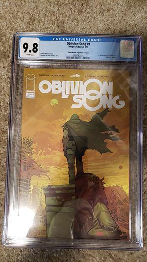 Oblivion Song #1 Pink Signature Variant