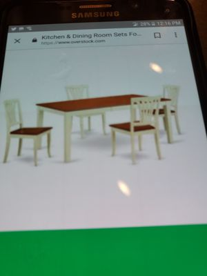 Dining room table set for Sale in Chesterfield, VA