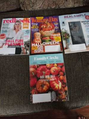 4 Womens Magazines Oct 2018... for Sale in Madison Heights, VA