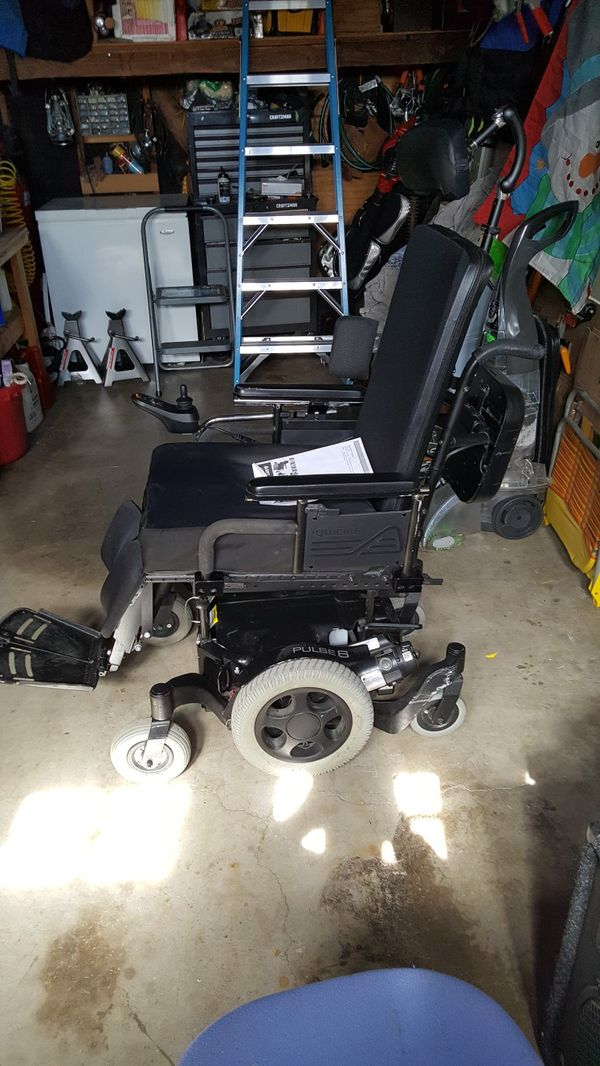 Quickie Pulse 6 power wheelchair for Sale in Whittier, CA - OfferUp