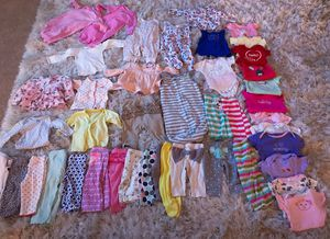 47 pieces 3 to 6 months old clothes for Sale in Berryville, VA