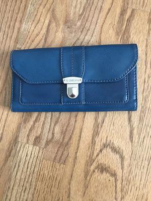 Ultramarine blue Liz Claiborne wallet for Sale in North Potomac, MD