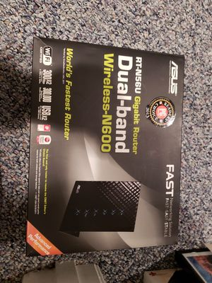 Asus rtn56u router for Sale in NO POTOMAC, MD